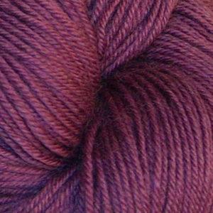 Hjerte - Superwash 12/4, rødlilla