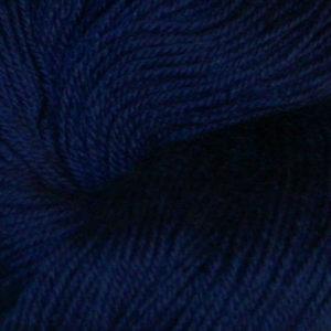 Hjerte - Superwash 12/4, marineblå