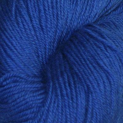 Hjerte - Superwash 12/4, klar blå