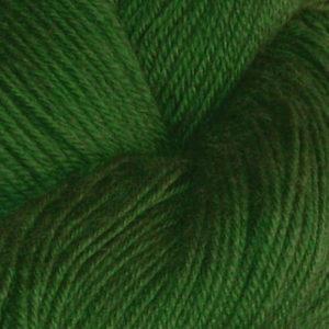 Hjerte - Superwash 12/4, ren grønn
