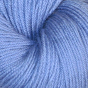 Hjerte - Superwash 12/4, lyseblå