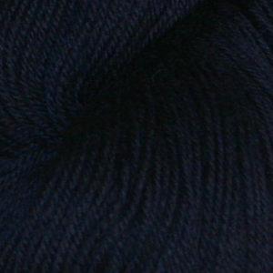 Hjerte - Superwash 12/4, mørk marineblå