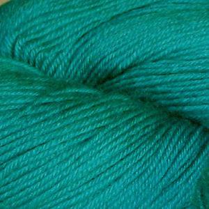 Hjerte - Superwash 12/4, turkisgrønn
