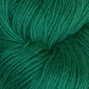 Hjerte - Superwash 12/4, blågrønn
