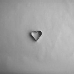 Form til filting - Lite hjerte - 4 cm