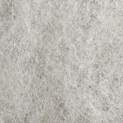 Kardet vasket, lys grå