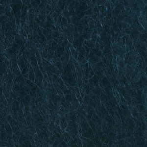 Kardet ull, grønnlig marine