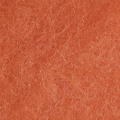 Kardet ull, oransje