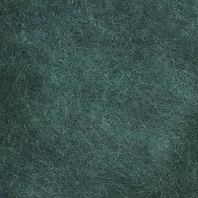 Kardet ull, sjøgrønn