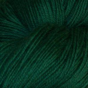 Hjerte - Superwash 12/4,  grønn (kald)