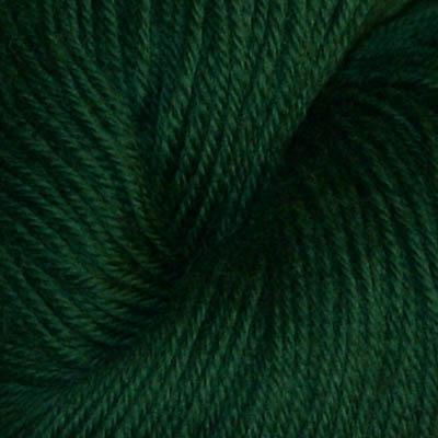 Hjerte - Superwash 12/4, mørk ren grønn