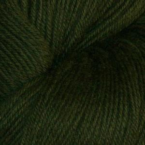 Hjerte - Superwash 12/4, jaktgrønn