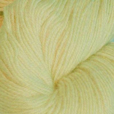 Hjerte - Superwash 12/4, lys gul