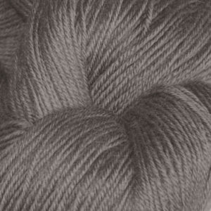 Hjerte - Superwash 12/4, brungrå