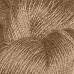 Hjerte - Superwash 12/4, mørk beige