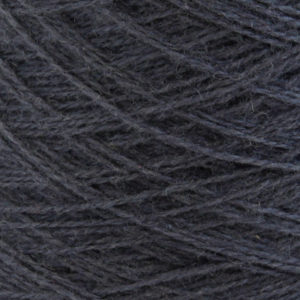 Ask - Hifa 2 Ullgarn,  mørk blågrå - spolt