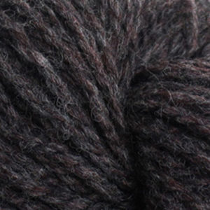 Trollgarn, melert mørk brun