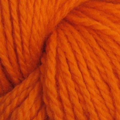 Trollgarn, mørk oransje