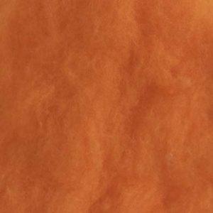 Kardet Supermerino, skarp oransje