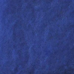 Kardet Supermerino, klar blå