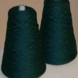 Alv Kamgarn 14/2,mørk blålig grønn