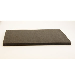 Filteunderlag A2, sort 42x60x2,8cm