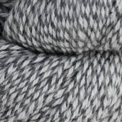 Fjell Sokkegarn 3, hvit/grå molinert