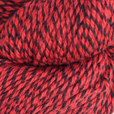 Fjell Sokkegarn 3, rød/svart molinert