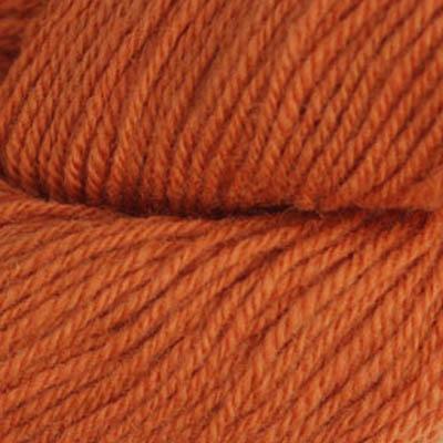 Fjell - Sokkegarn 3, cognac brun