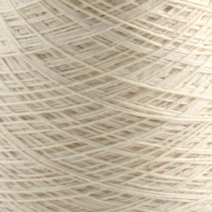 Bomull renningsgarn 12/3, hvit - 250 g