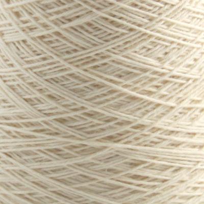 Bomull renningsgarn 12/4, hvit - 250 g