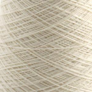 Bomull renningsgarn 16/2, hvit (tynn) - 250 g