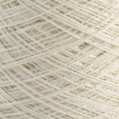 Lin renningsgarn 16/2 - 250 g - hvit