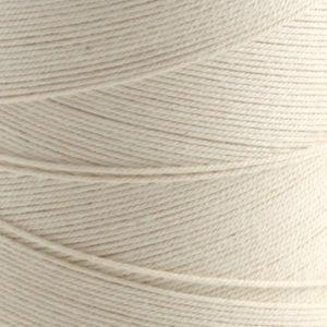 Bomull renningsgarn 12/6, hvit - 500 g