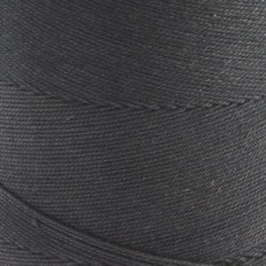 Bomull renningsgarn 12/6, svart - 500 g