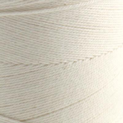 Bomull renningsgarn 12/9, hvit - 500 g