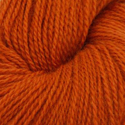 Fjord - Sokkegarn 2, cognac brun