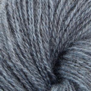 Norsk Pelsullgarn, lys dongeriblå