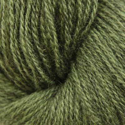 Norsk Pelsullgarn, olivengrønn