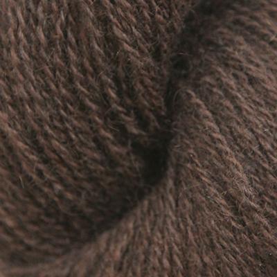 Norsk Pelsullgarn, mørk brun
