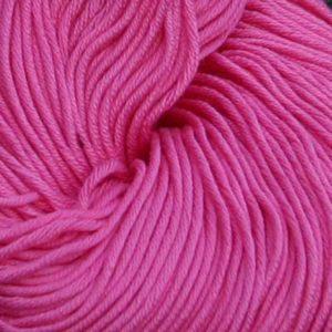 Luxor Bomullsgarn, skarp rosa