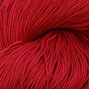 Luxor Bomullsgarn, mørk rød